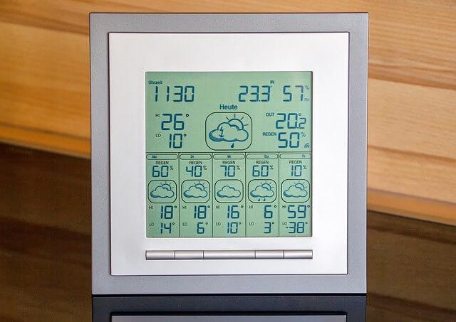 天気予報計