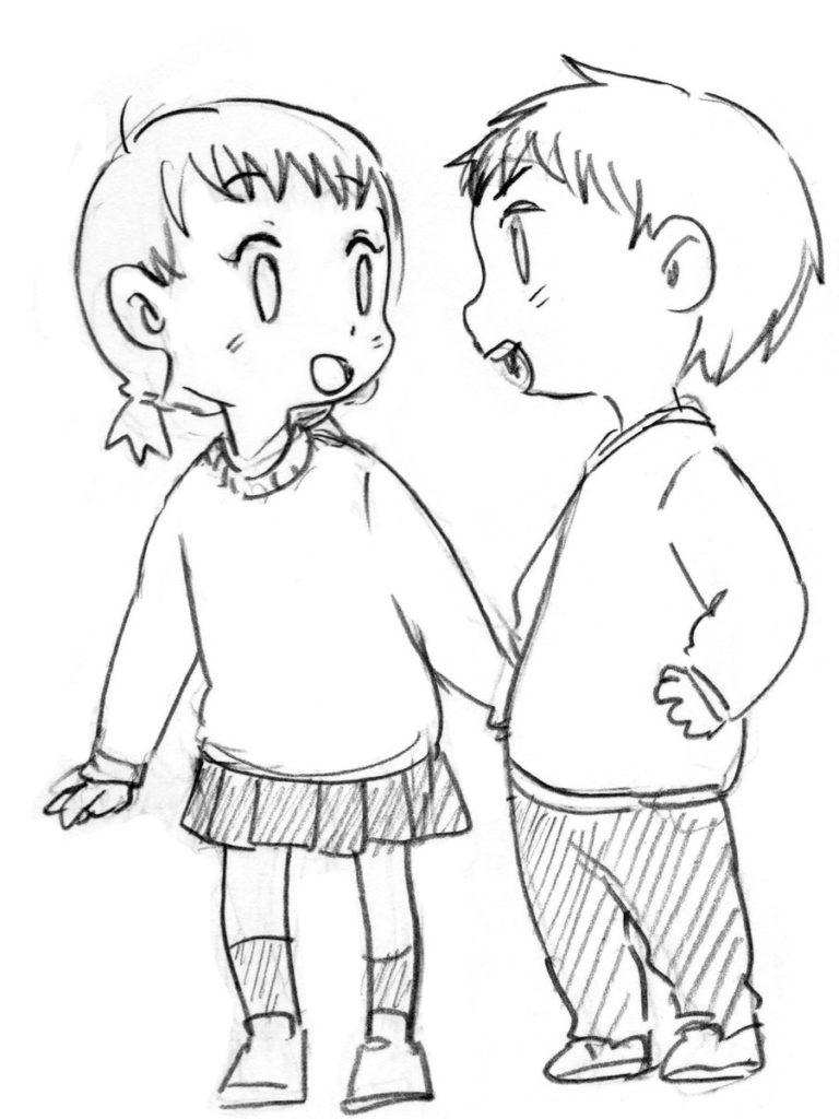 幼児3描き分け