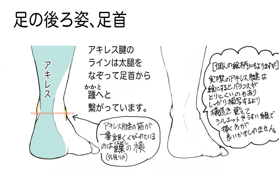 足の描き方6